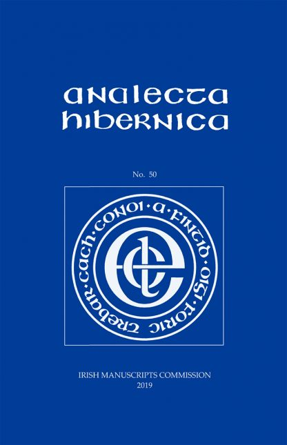cover for issue no. 50 of IMC serial publication Analecta Hibernica