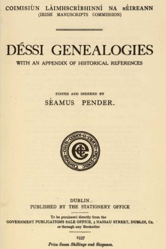 Dessi Genealogies