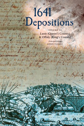 cover of 1641 depositions volume six